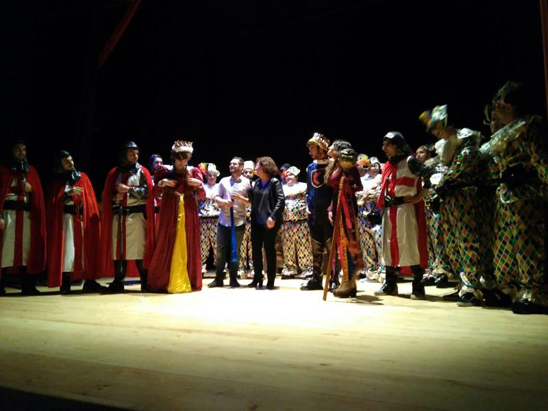 Presentació del Carnaval de Calonge, aquest passat dissabte a la sala Fontova.