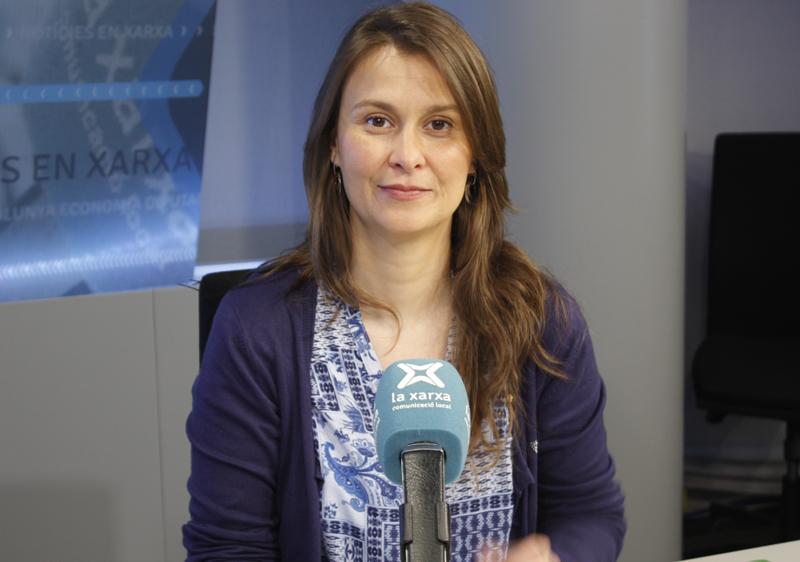 Meritxell Serret, consellera d'Agricultura, Ramaderia, Pesca i Alimentació. (Foto: La Xarxa).