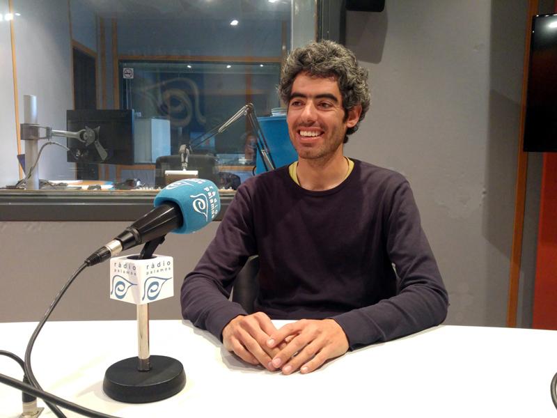 Joan Bohigas, regidor de la CUP a l'Ajuntament de Palamós.