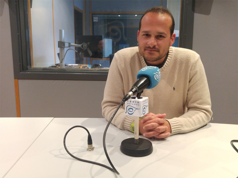 Joan Mármol ha estat avui el convidat del programa 'Taula Esportiva'.