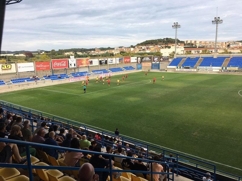 El Palamós continua sense conèixer la victòria aquesta temporada. (Foto. Joan Danés).