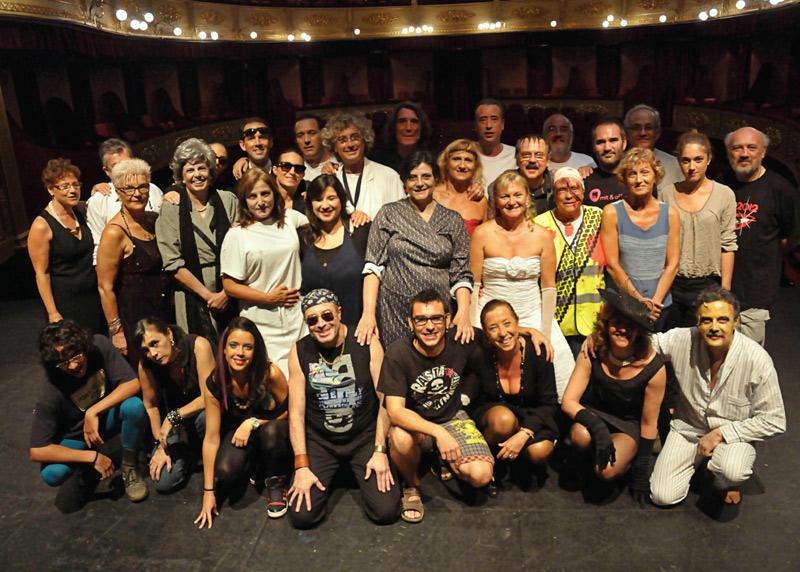 Integrants de Gespa Teatre.