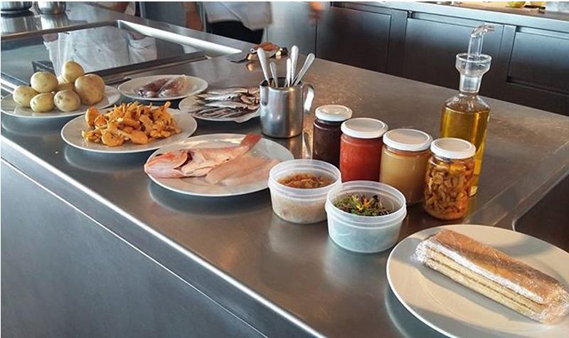 Fotografia d'Instagram d'un taller del 'Palamós gastronòmic'.