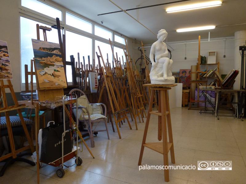 Local del Cercle Artístic de Palamós, al carrer d'Orient.