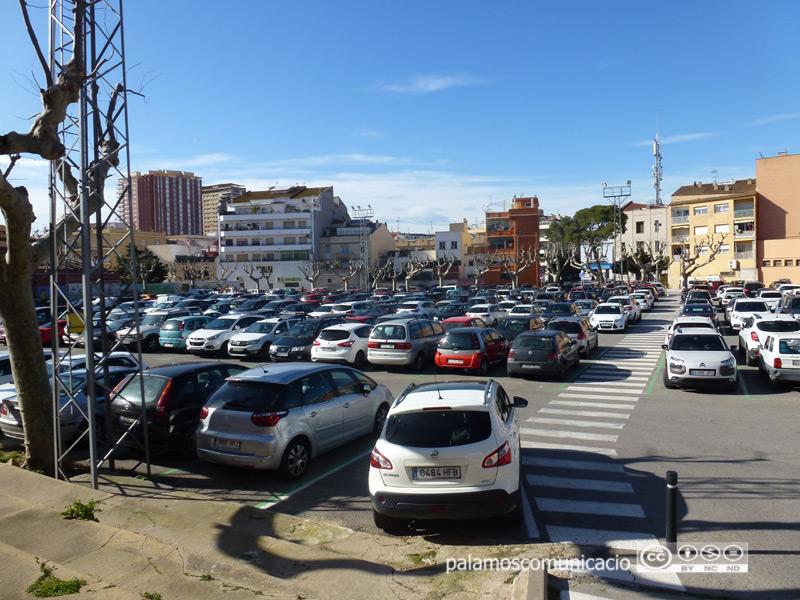 L'aparcament de l'Arbreda tindrà la novetat de la zona vermella.