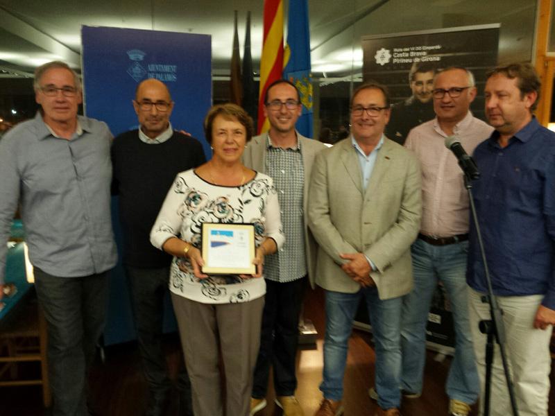 El sector va homenatjar Carme Ciurana, de l'hotel Àncora. (Foto: Ajuntament de Palamós).