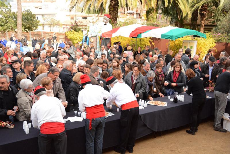 Aquest cap de setmana es podran degustar vins al centre històric de Calonge. (Foto: Ajuntament de Calone i Sant Antoni).
