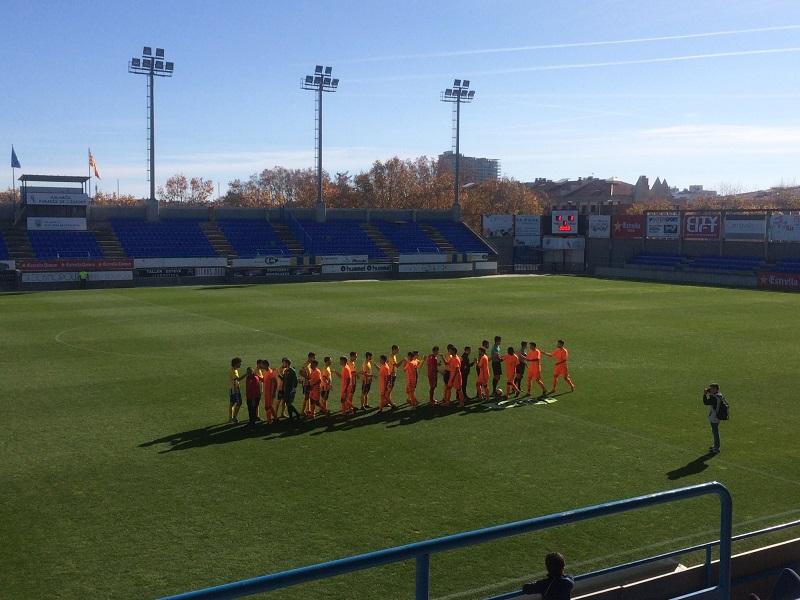 El Palamós ha sumat avui la segona victòria de la temporada a casa. (Foto: Jordi Caixàs).