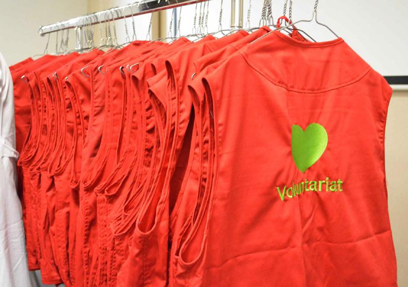 Amb les armilles s'identificarà més facilment als voluntaris. (Foto: SSIBE).