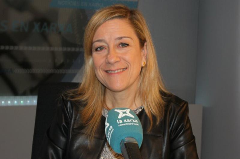 L'alcaldessa de Vilanova i la Geltrú, Neus Lloveras, deixa la presidència de l'AMI. (Foto: La Xarxa).
