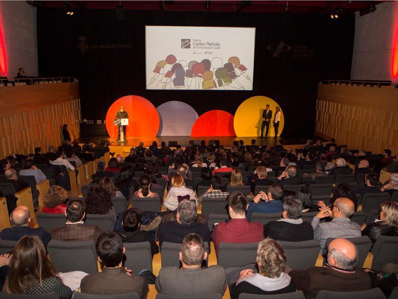 Els premiats se sabran aquest vespre en una gala a l'Auditori de Girona. (Foto: Martí Artalejo. Diputació de Girona).