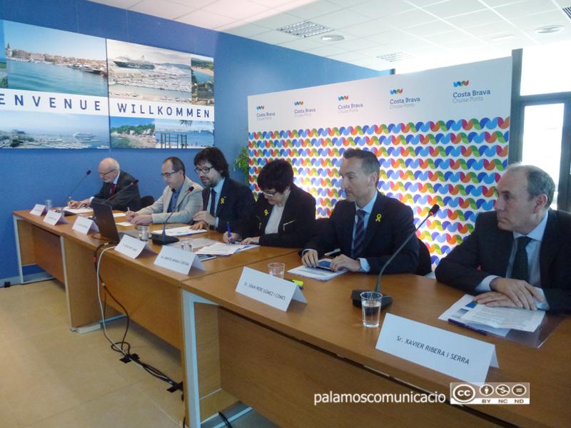 La presentació s'ha fet aquest matí a l'Estació Marítima del Port de Palamós.