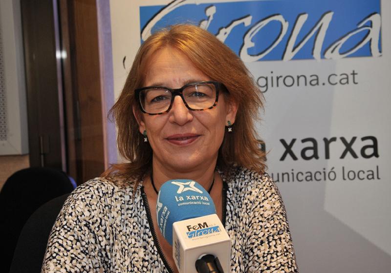 Maria Rosa Agustí, presidenta de l'Associació Gironina d'Empresàries. (Foto: FeM Girona).