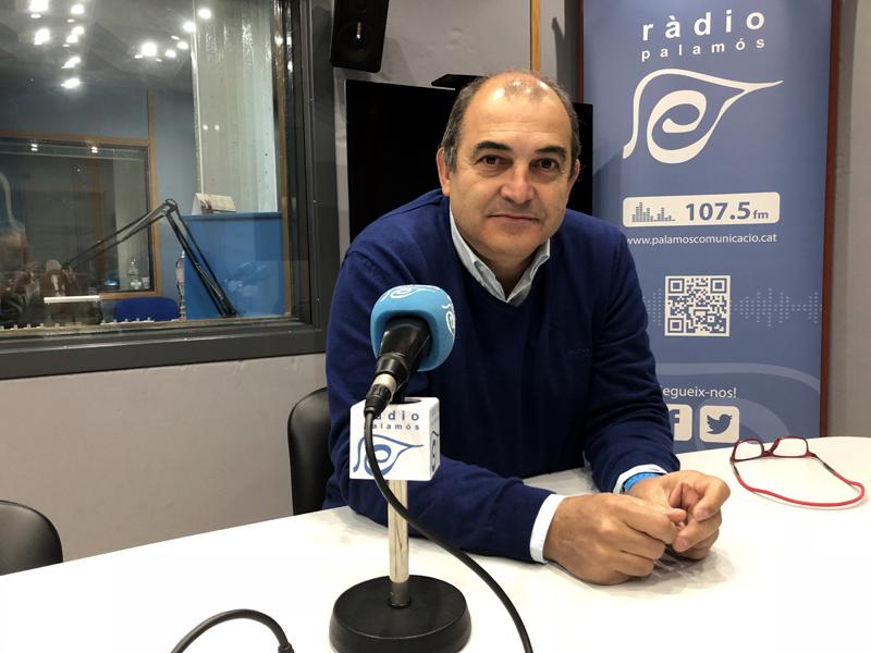 Un grup de socis vol la dimissió del president del Palamós, Joan Pau Pérez.