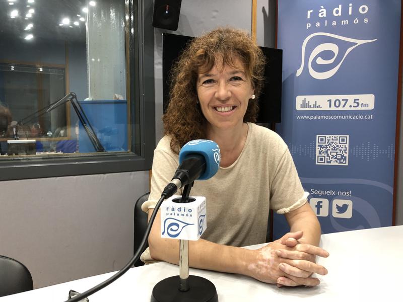 Natàlia Casellas, regidora d'Acció Social de l'Ajuntament de Palamós.