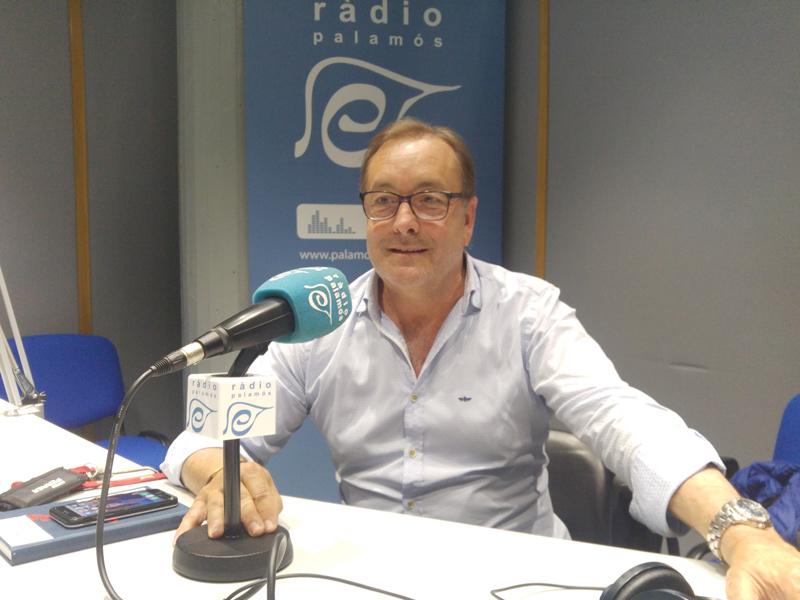 Jordi Rissech, president de l'Associació de Tavernes, Restaurants i Locals d'Oci Nocturn de Palamós.
