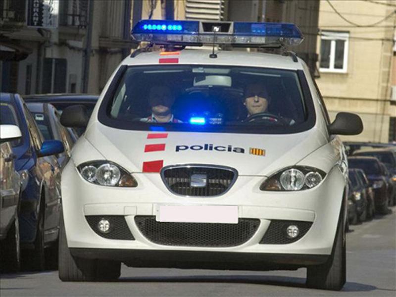 Els Mossos d'Esquadra s'han encarregat de fer les detencions.