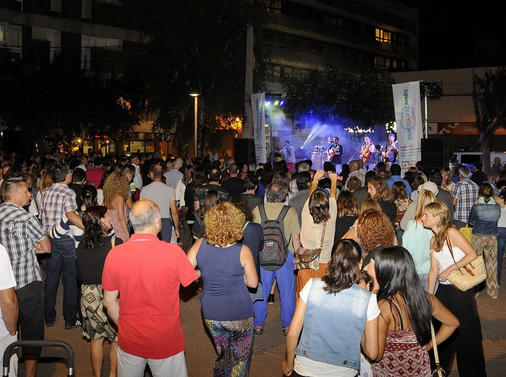 Un concert del festival Rumb(A)Palamós, l'any passat. (Foto: Josep Lois).