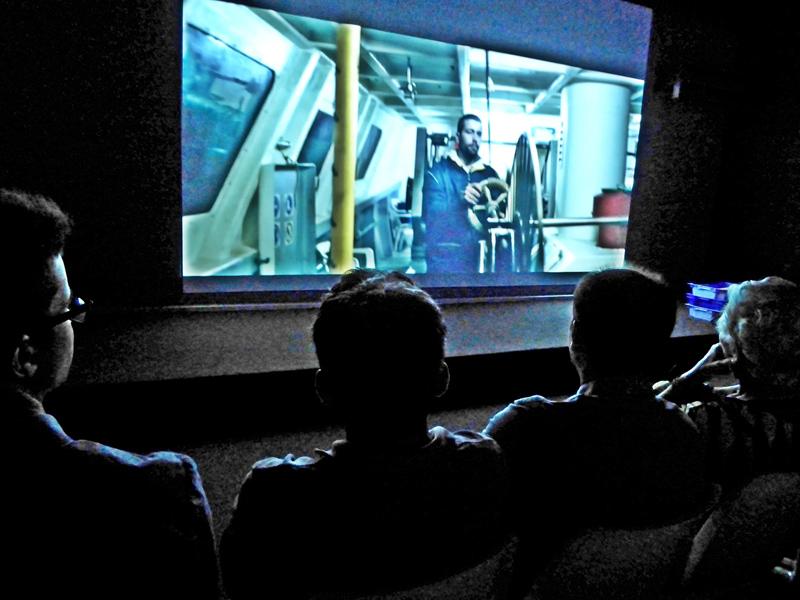 El Museu palamosí ha programat tres projeccions d'audiovisuals en el marc d'aquest fòrum. (Foto: Museu de la Pesca).