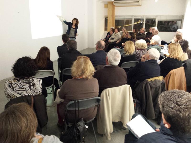 La regidora Natàlia Casellas presentant el projecte. (Foto: Ajuntament de Palamós).