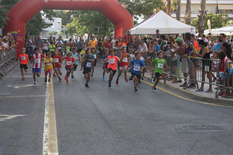 Jornada esportiva amb motius solidaris, dissabte passat a Sant Antoni. (Foto: Ajuntament de Calonge i Sant Antoni).