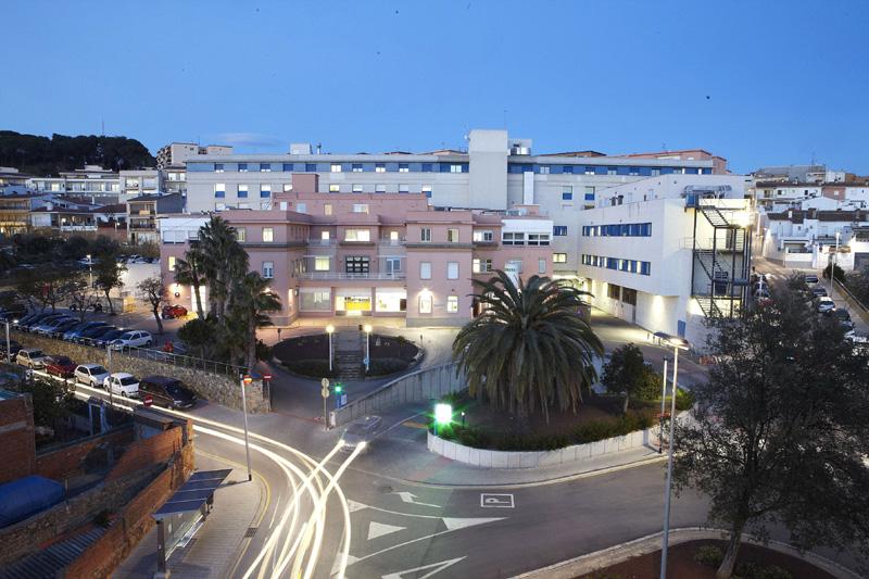 L'hospital de Palamós és el referent de l'assitència sanitària pública al Baix Empordà.