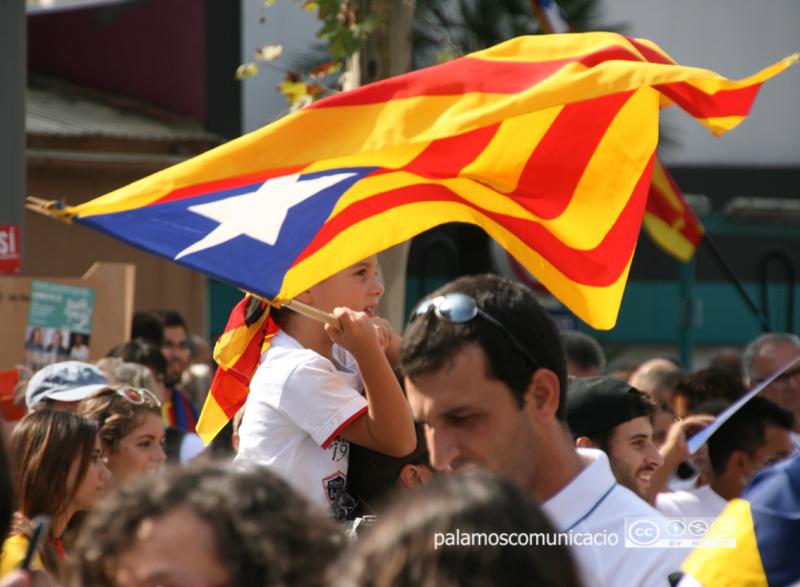 Palamós celebra demà la Diada de l'11 de setembre.