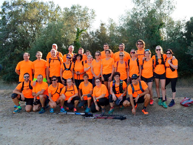 SSIBE aporta vuit equips a l'Oncotrail que es farà aquest mes d'octubre. (Foto: SSIBE).