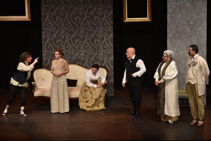 Es representarà 'Les falses confidències', de Pierre de Marivaux, a càrrec del grup Onze al Teatre, de Sant Quirze del Vallès.
