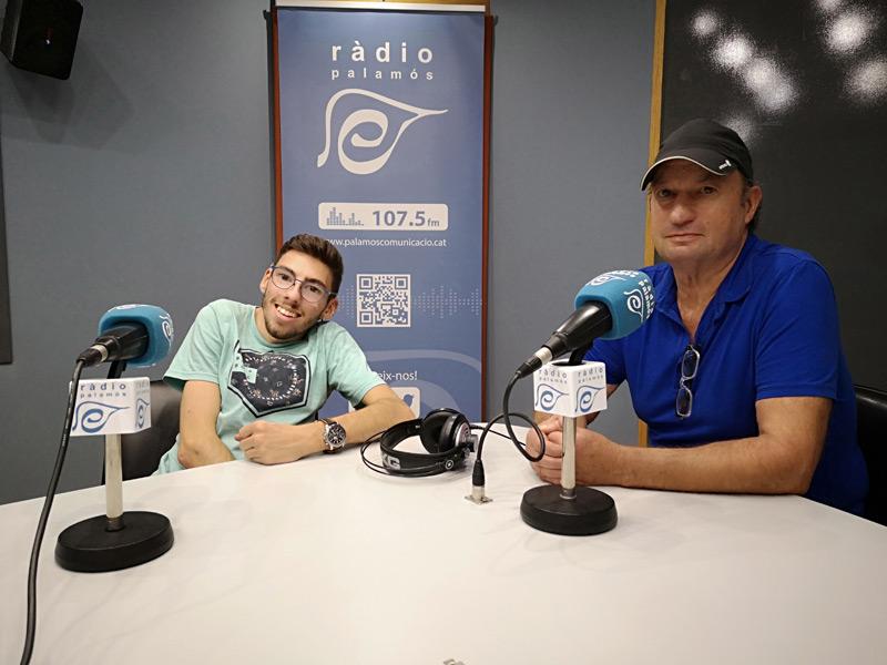 Boris Tosas i Martí Sansabrià, de l'Associació Pots.