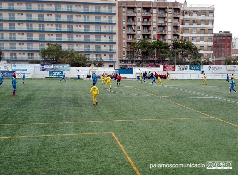 El Palamós ha aconseguit avui la tercera victòria de la temporada fora del seu estadi.