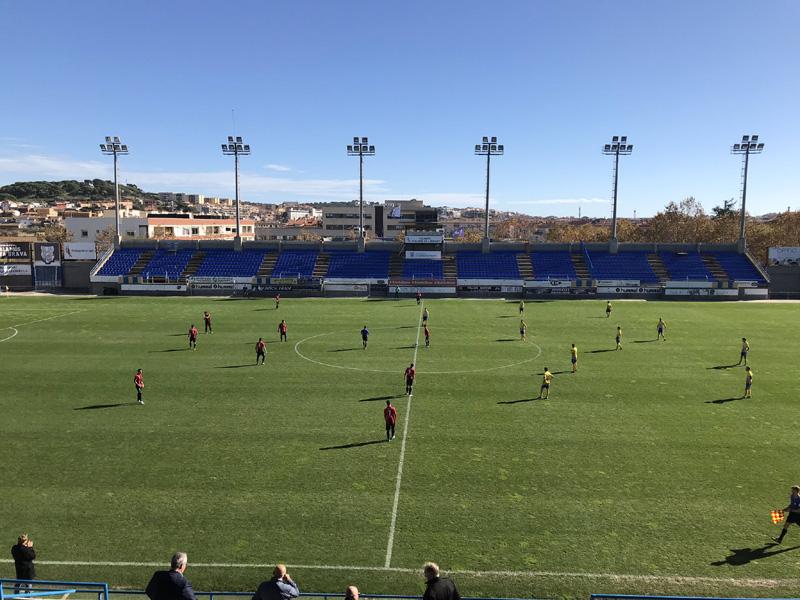 Palamós i Sant Cugat s'han repartit els punts en el partit d'avui. (Foto: Palamós CF)