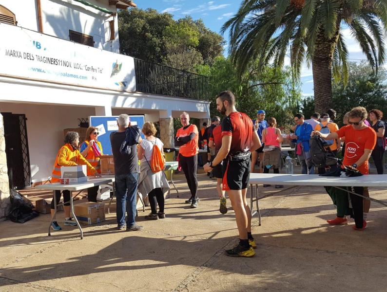 Nou èxit de participació de la Marxa dels Traginers. (Foto: Club Alpí Palamós).