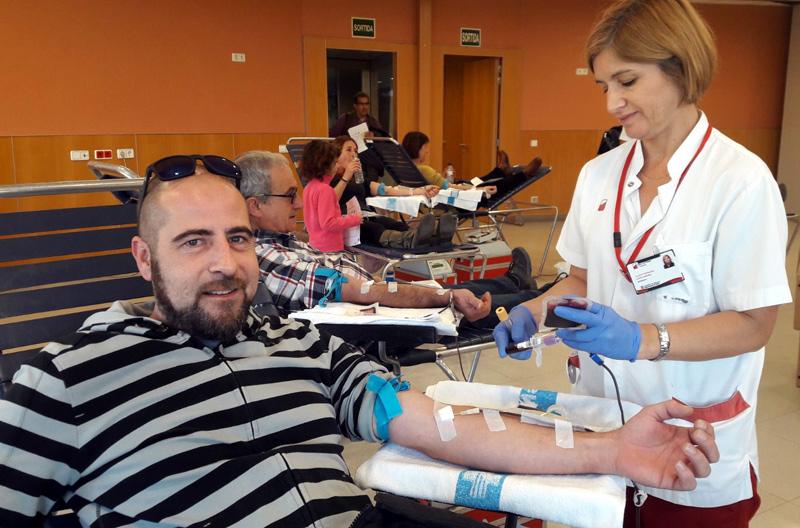Donants al CAP Palamós. Foto A.Donants de Sang Palamós