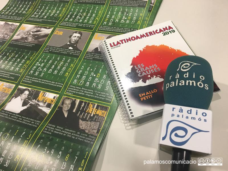 La presentació de l'Agenda Llatinoamericana 2019 a Palamós es fa al Punt Jove a les vuit del vespre.
