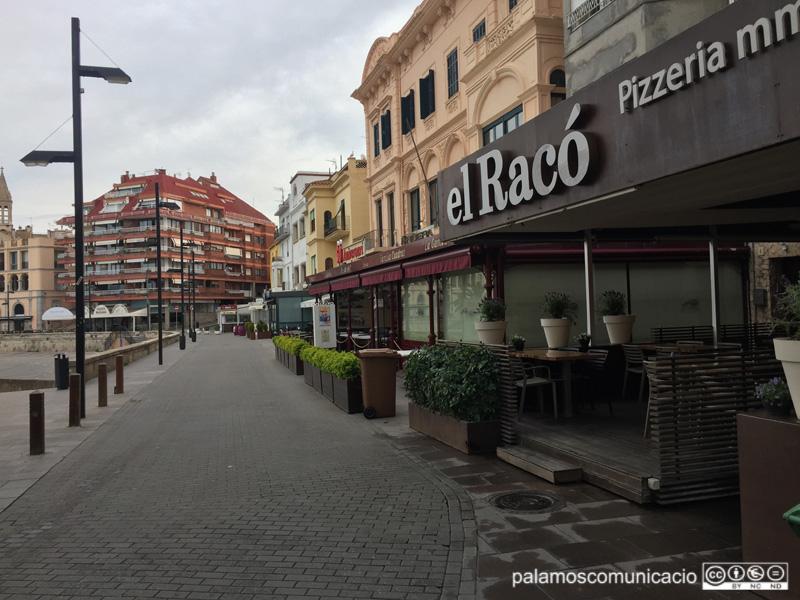 La zona d'oci i restauració de la Planassa és un dels punts on es fixarà la nova Ordenança de via pública.