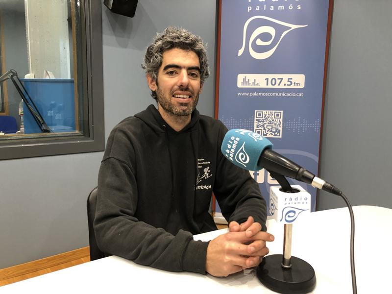 Joan Bohigas, portaveu municipal de la CUP a Palamós.