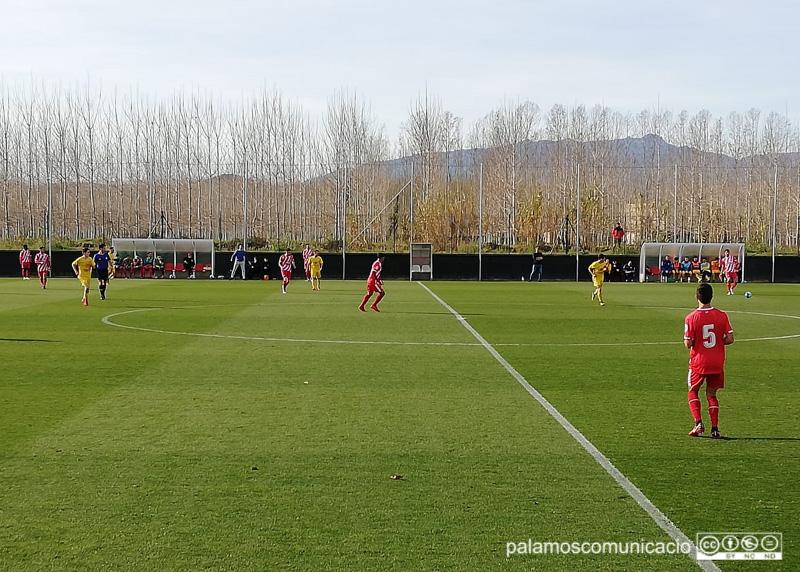 El Palamós tanca l'any amb un meritori punt al camp del líder, el Girona B.