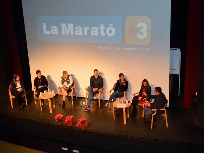 L'acte 'Parlem de càncer: experiències personals entorn la malaltia', que  va fer al desembre a La Gorga. (Foto: SSIBE).