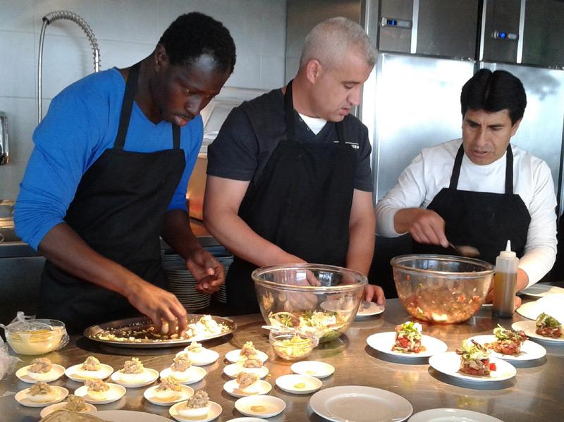 Curs de formació de cuina. (Foto: Ajuntament de Palamós).