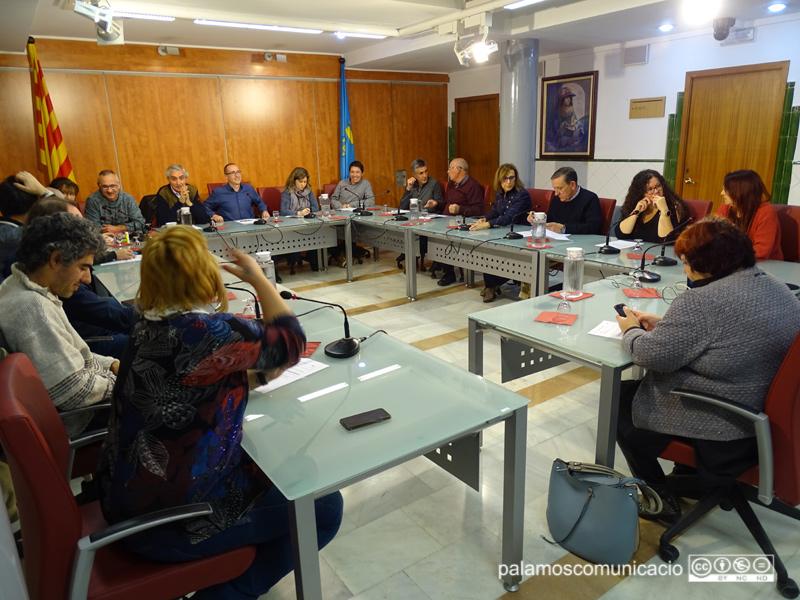 Ple de l'Ajuntament de Palamós celebrat aquest dimarts.