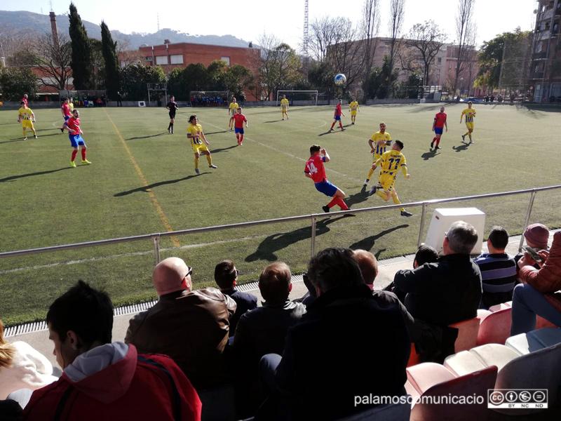 El Palamós ha sumat avui els tres punts davant el Sant Joan de Montcada.