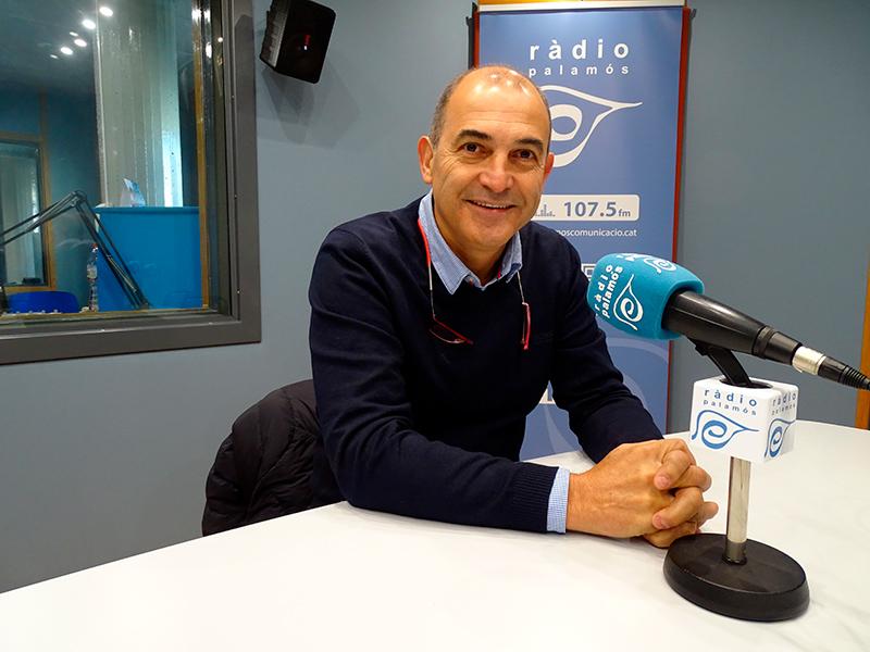 Joan Pau Pérez, president de la Fundació Esportiva Palamós.