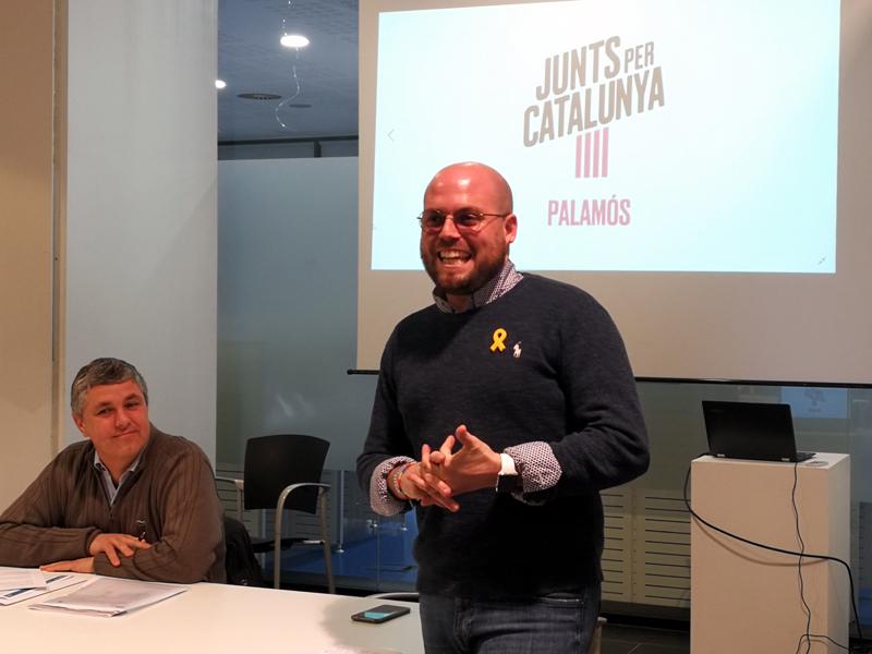 Raimon Trujillo serà el cap de llista de Junts per Catalunya Palamós-Sant Joan. (Foto: PDeCAT).