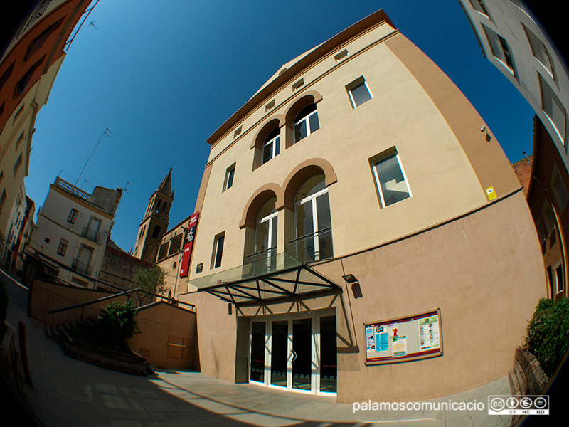 L'edifici del Centre Cultural La Gorga, en l'actualitat.