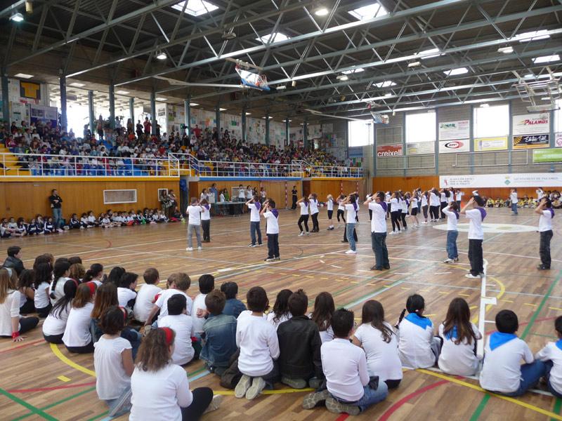 Les subvencions ajuden, entre d'altres, a col•lectius que promoguin l'esport escolar. (Foto: Ajuntament de Palamós).
