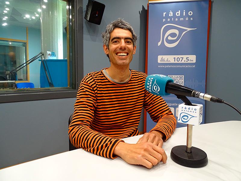 Joan Bohigas, regidor de la CUP a l'Ajuntament de Palamós, al programa 'Preguntes'.