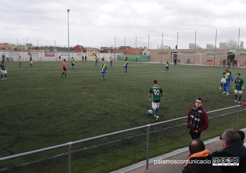 El Palamós ha aconseguit avui una victòria de prestigi al camp del Sabadell Nord.