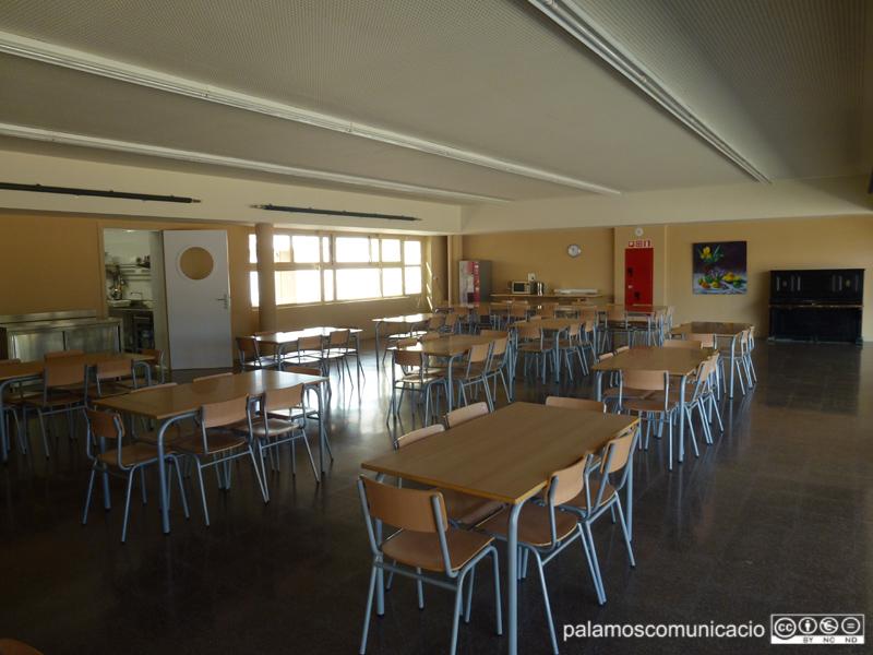 Una aula de l'escola pública Vila-romà de Palamós.