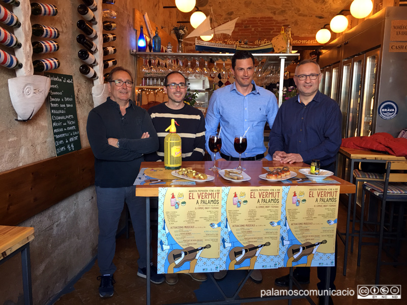 La presentació de la campanya s'ha fet aquest matí a la taverna La Barberia.